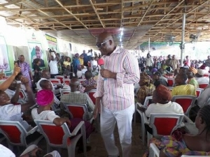 Those Who Beat Up Their Wives Are Only Bringing Curses On Their Heads – Ayo Fayose